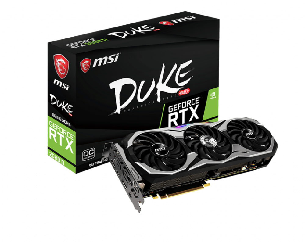 MSI RTX 2080 Ti DUKE 11G OC → DIGITAL LED