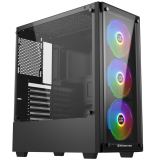 XIGMATEK ARTEMIS BLACK (EN43088) – GAMING ATX, 2 SIDE TEMPERED GLASS, NO FAN